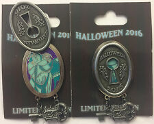 Disney Parks 2016 Halloween Haunted Mansion Lock & Key Ghost Opera Singer LE Pin