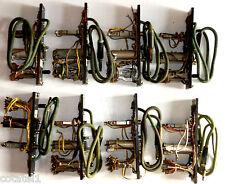 BD71: 8 modules de ligne US à cordon coton vert et PL51 1939 à 1942 - rare