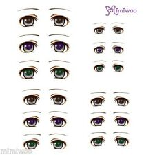 Parabox Obitsu 1/6 bjd Doll Dollfie Head Deco Eye Decal Sticker 05 (12 Pairs)