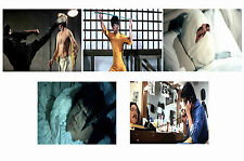 BRUCE LEE - GAME OF DEATH  - SET OF 5 - A4 PHOTO PRINTS