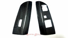 3D GLOSSY REAL CARBON FIBER WINDOWS SWITCHES PANEL COVER FOR MAZDA RX8 SE3-P JDM