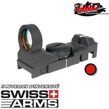 263861 - Red dot Viseur point rouge avec rail picatinny - Visée swiss arms laser