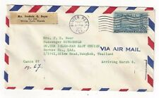 1959 Winter Park Florida Airmail to Bangkok Siam, Thailand, C36