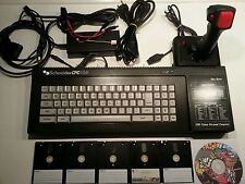 "Amstrad / Schneider CPC 6128 PSU RGB Joystick 3"" Disks Huge Games Collection"
