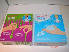 MAKE YOUR OWN SLIME KIT and SNOW KIT--Novelty/ Party gift/