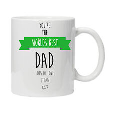 Personalised Worlds Best Dad/Daddy Mug - Ideal Birthday Gift  Present