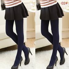 Womens Winter Thermal Thick Warm Fleece lined Skinny Slim Leggings Stretch Pants