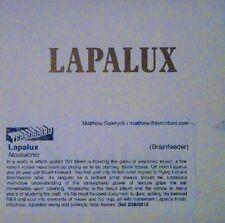 LAPALUX - NOSTALCHIC - CD, 2013 - EUROPEAN PROMO