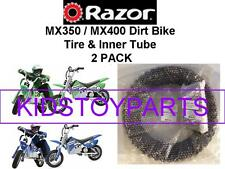 Razor MX350 Dirt Bike Rocket Tire & Inner Tube