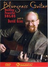 David Grier Bluegrass Guitar Building Powerful Solos Learn to Play Music DVD