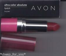*~AVON~*ULTRA COLOR RICH ABSOLUTE LIPSTICK**WARM BERRY**NEW**