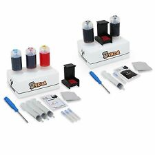Refill Kit for Canon PG-240 CL-241 XL Black & Color Ink Cartridges