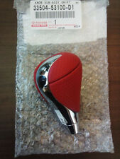 JDM Genuine LEXUS IS-F RED LEATHER CHROME SHIFT KNOB IS250 IS350 GS300 GS430