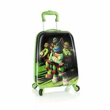 TMNT Ninja Turtles Kids CarryOn Boys Spinner Luggage by Heys Nickelodeon
