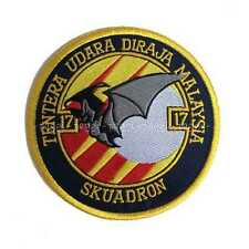 Patch N36 Royal Malaysian Air Force - 17th Squadron Toppa senza velcro