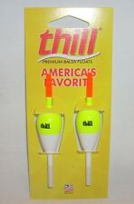 "Lindy Thill Balsa Fishing Slip Floats Bobbers 7/8"" Oval/4"" Tube"