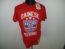 "T-SHIRT DAINESE  MOD."" CHAMP. "" UNISEX COLORE ROSSO TG.XL COD.189628300207"