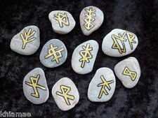 Safe Travel Bind Stone Rune amulet talisman adventure wicca pagan spell