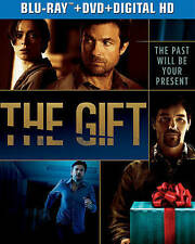 The Gift (Blu-ray/DVD, 2015, 2-Disc Set, Includes Digital Copy; UltraViolet)