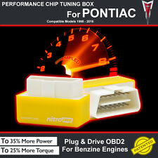 POWER BOX CAR AUTO CHIP TUNING ECU REMAPPING REMAP PERFORMANCE UPGRADE F PONTIAC