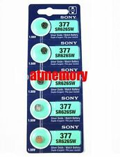 Sony SR626SW 626 SR626 Silver Oxide Battery 377 SR66 1.55V for Watch JAPAN