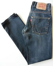 Men's Levis 511 Skinny Jeans W28 L32 Size 28R Blue Slim Fit Levi Strauss