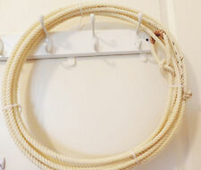 New western generic 30' Adult Lariat/Lasso Rope w/leather burner,MPN 30'