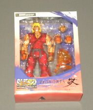 Super Street Fighter IV Ken Play Arts Kai Action Figure Arcade Edition NIB NEW