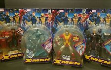 MARVEL LEGENDS ToyBiz X-MEN LOT Inc Iceman *RARE*/ Colossus / Gambit / Magneto