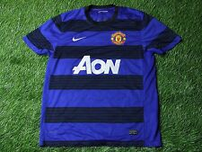 MANCHESTER UNITED ENGLAND 2011/2013 FOOTBALL SHIRT JERSEY AWAY NIKE ORIGINAL