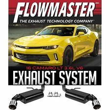 FLOWMASTER 817743 Axle Back Dual Exhaust 2016-2017 Chevy Camaro V6 3.6L LT