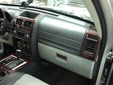 DODGE NITRO SXT SE R/T INTERIOR WOOD DASH TRIM KIT SET 2007 2008 2009 2010 2011