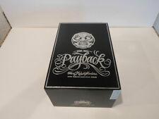 THE BIG PAYBACK HUESO WOOD CIGAR BOX GOOD CONDITION