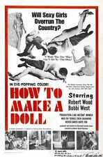 How To Make A Doll Poster 01 A2 Box Canvas Print