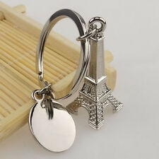 Fashion Paris Retro Eiffel Tower Model Cute Keychain Keyring Keyfob Love Gift