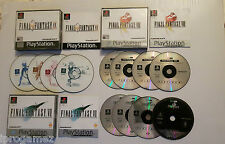 FINAL FANTASY VII VIII IX 7 8 9 PS1 Game
