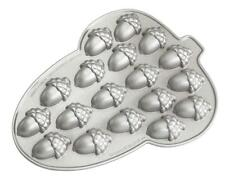 Nordicware MINI ACORN CAKELET PAN 18 Autumn NUT Shaped Cakes *Dip in Chocolate