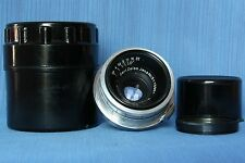 Carl Zeiss Jena 3.5cm f2.8 Biogon T coated & Sonnar 1:4 f=13,5cm for Contax RF