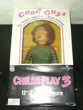 "Child's Play 3 Chucky DOLL GOOD GUYS 12"" Figure NECA Reel CULT CLASSICS MIB"