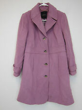 Talbots Petite Wool Blend Coat - Womens 8P - Pink - NWT