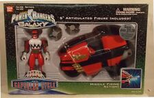 Power Rangers Lost Galaxy - Red Capsular Cycle With Red Ranger by Bandai (MIB)
