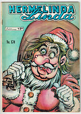 HERMELINDA LINDA #170 1968 Vintage MEXICAN COMIC BOOK Witchcraft SANTA CLAUS c/s