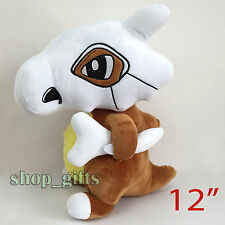 "Pokemon Cubone #104 Plush Soft Toy Stuffed Animal Doll Teddy Figure 12"" BIG"
