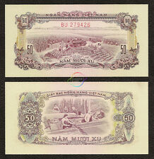 SOUTH VIETNAM 50 Xu, 1966 (1975), P-39, Harvesting Cane Field, AU