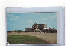 Capital Airlines DC-4 at Charleston WVl airport postcard