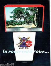 PUBLICITE ADVERTISING 066  1967  Antar  carburants  par Rapha