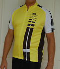Jivana Cycling Bike short Sleeve Jersey mens womens Yellow