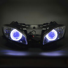 Assembly Headlight Projector Demon Angel Eyes Kits For Yamaha YZF R6 2006 2007