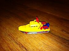1998 Yellow Sea Rescue Boat Toy Car S.O.S. SOS Mattel Matchbox Collector Fun old