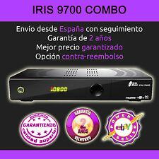 RECEPTOR SATELITE  IRIS 9700 HD  COMBO  +ANT WIFI+CABLE HDMI.